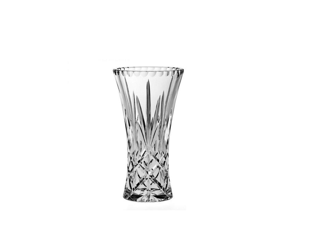 skleněná váza christie 255 mm crystal bohemia