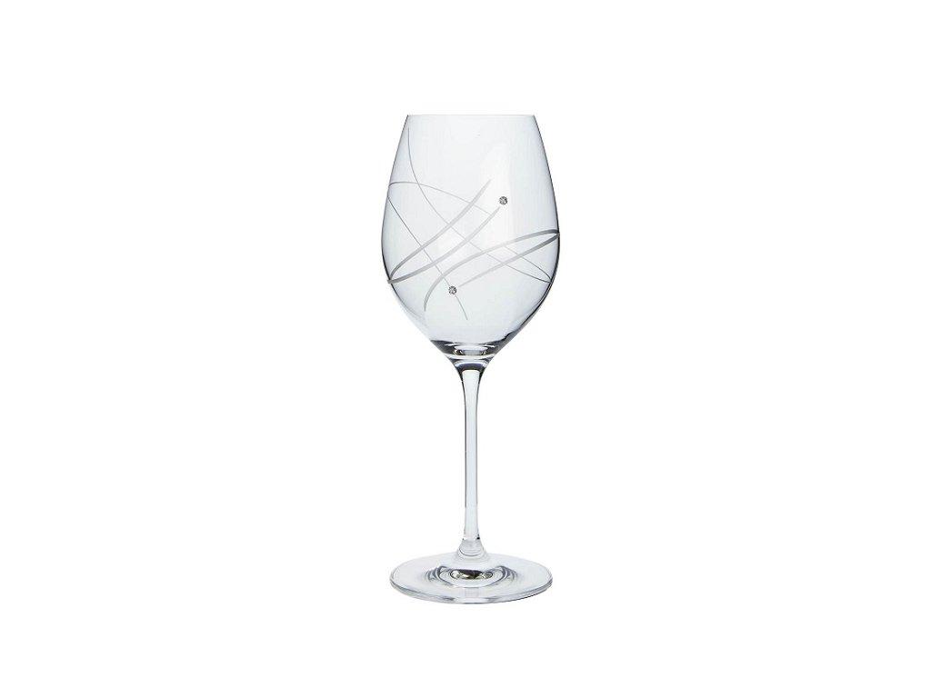 Sklenice na víno Celebration Swarovski 470 ml 27181