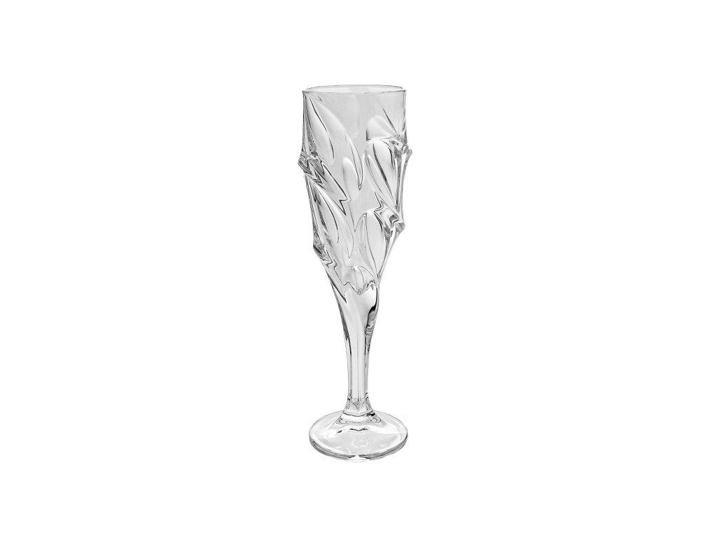 bohemia jihlava sklenice na sekt calypso