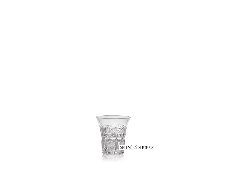 Aurum Crystal Broušená sklenička na pálenku 45 ml