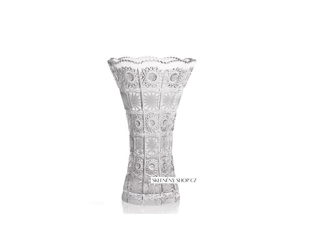 Aurum Crystal Broušená váza CLASSIC 255 mm