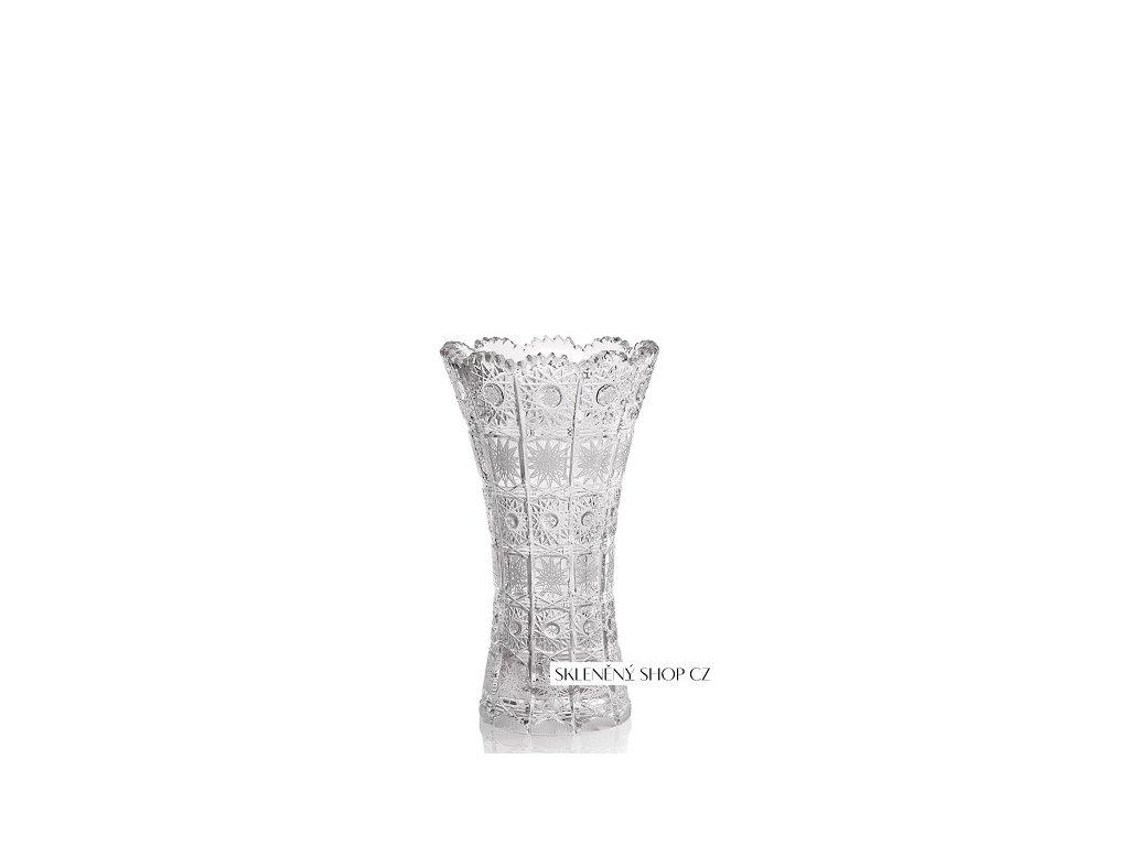 Aurum Crystal Broušená váza CLASSIC 205 mm