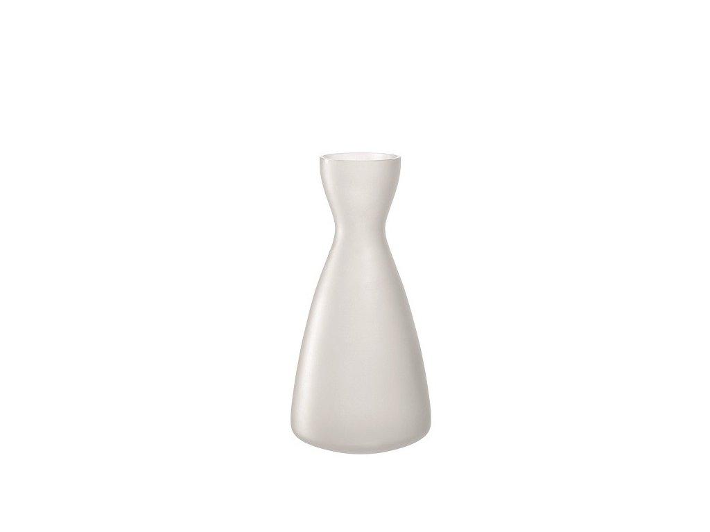 Leonardo Bílá váza Milano 28 cm