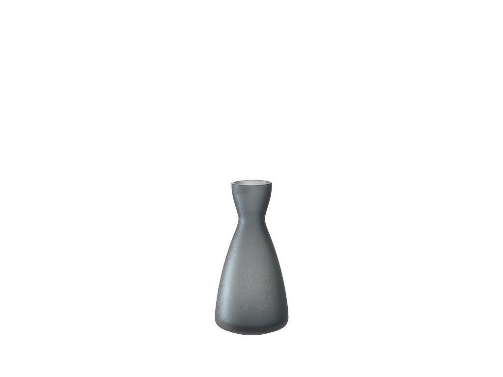 Leonardo Modrošedá váza Milano 14 cm