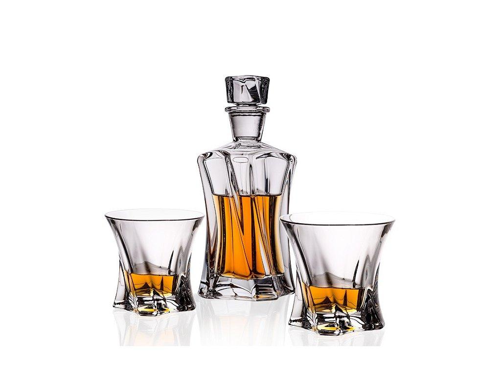 Aurum Crystal Cooper whisky set (1+2)