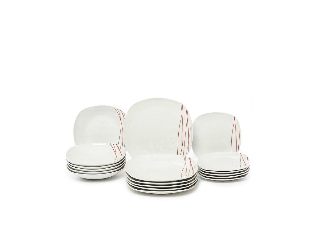 Domestic Jídelní souprava talířů Sencilla