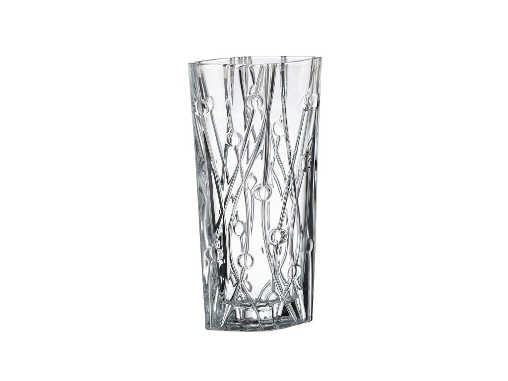 skleněná váza labyrinth 405 mm crystalite bohemia