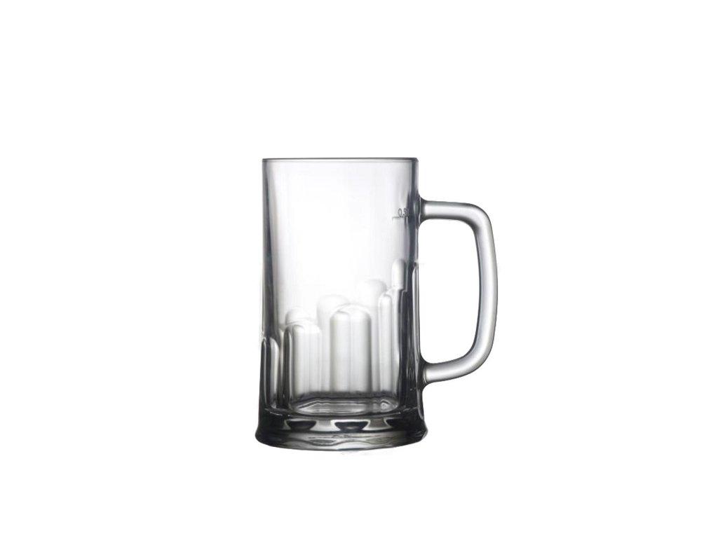 Hrastnik Pivní půllitr TUDOR 0,5 l