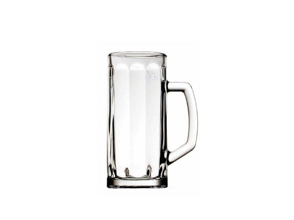 Hrastnik Pivní půllitr BERNA 0,5 l