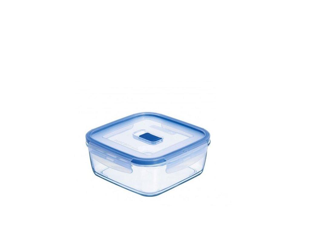 Luminarc Skleněná dóza s víčkem Pure Box 0,7 l