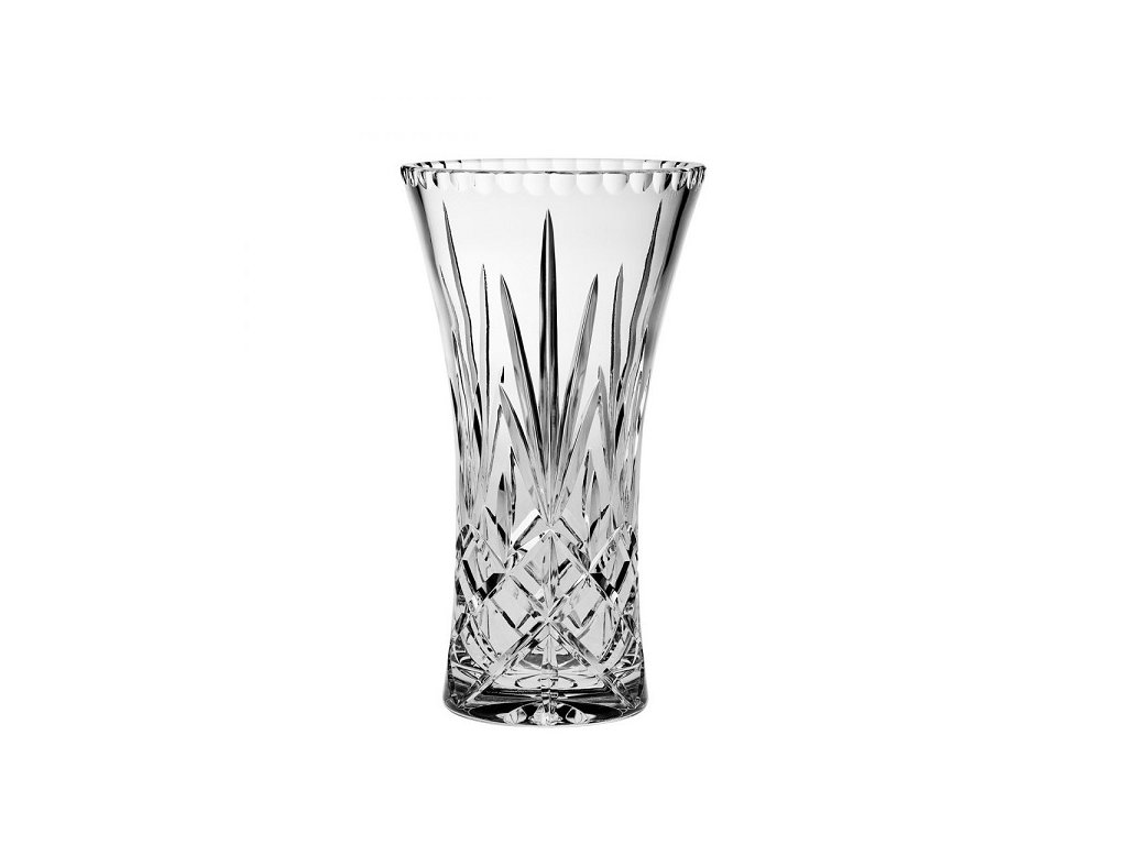 skleněná váza christie 305 mm crystal bohemia