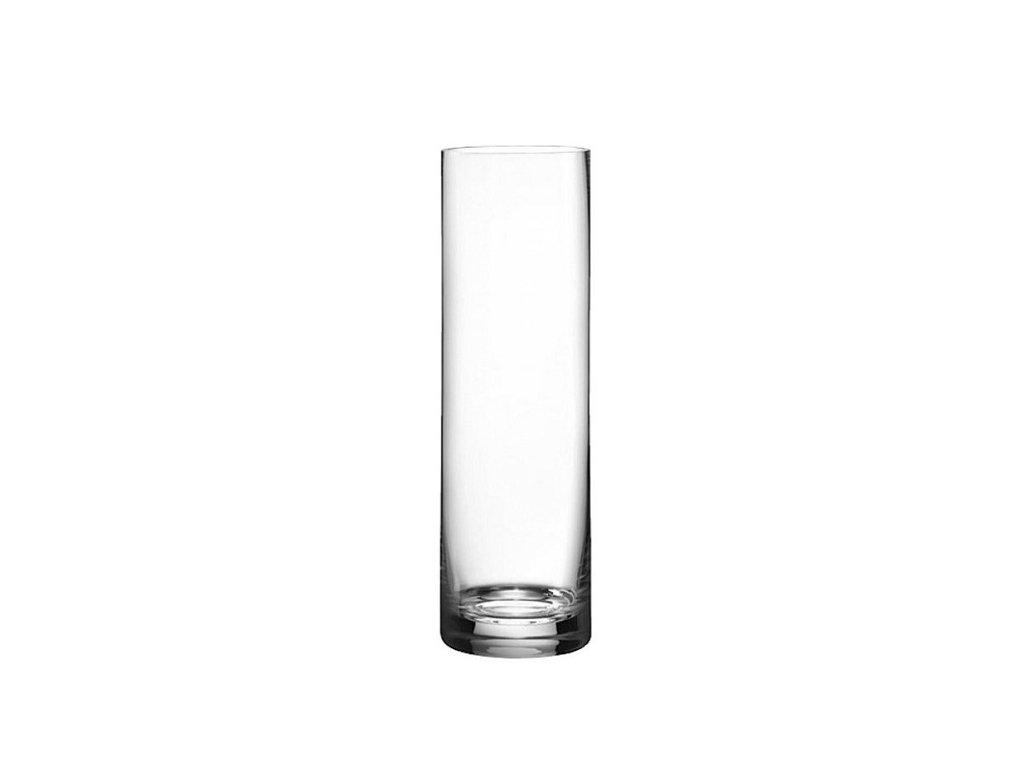 Rona Skleněná váza válcovitá 350 mm