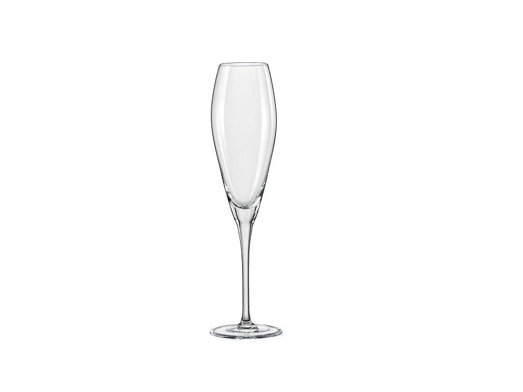 Crystalex Sklenice na víno Bravo 220 ml