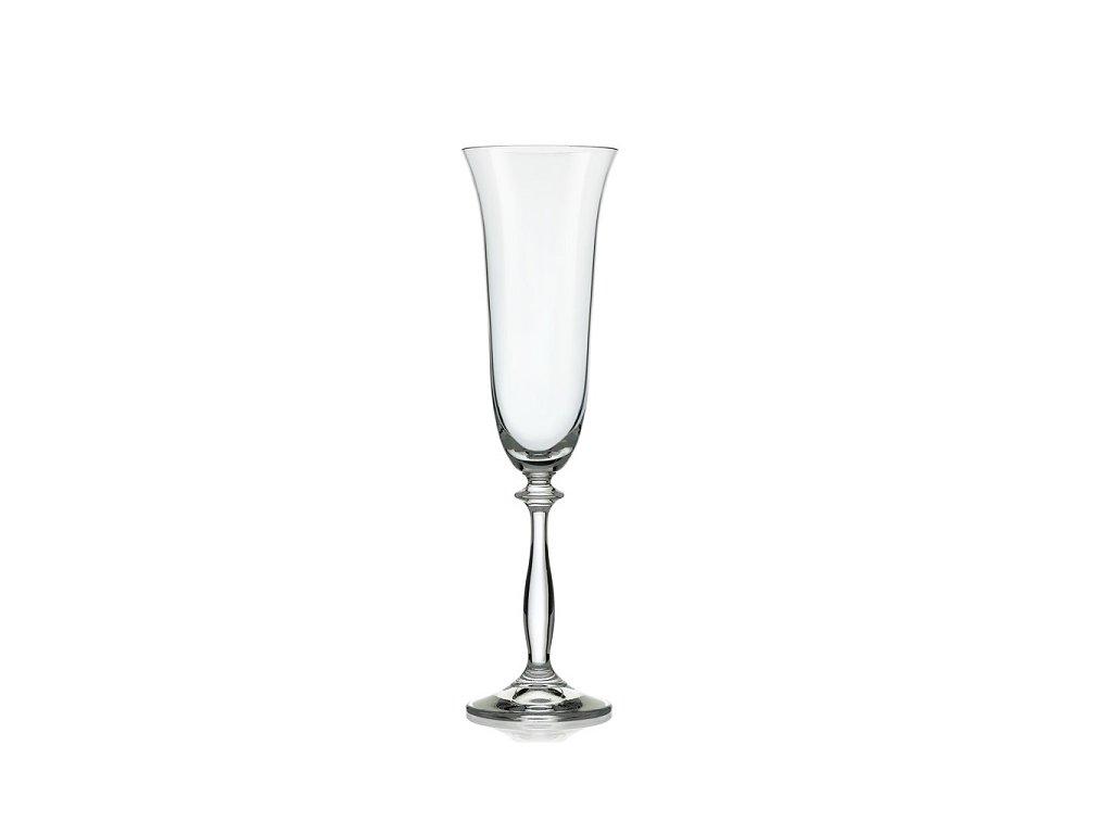 Crystalex sklenice na sekt Angela 190 ml