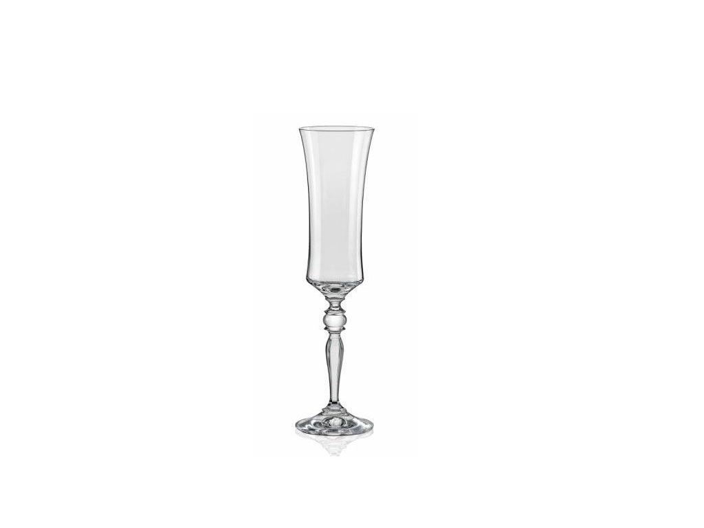 Crystalex Sklenice na šumivé víno Grace 190 ml