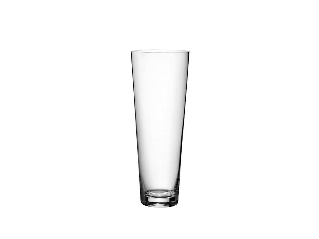 Rona Skleněná váza kónická 350 mm