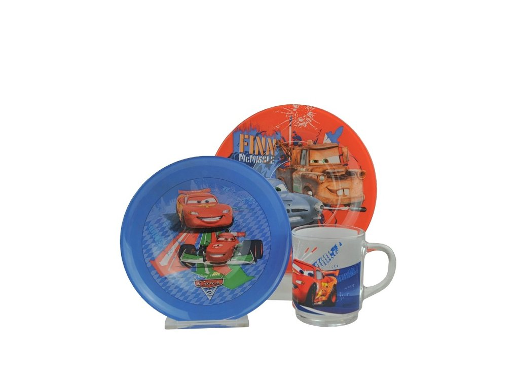 dětská jídelní souprava Cars
