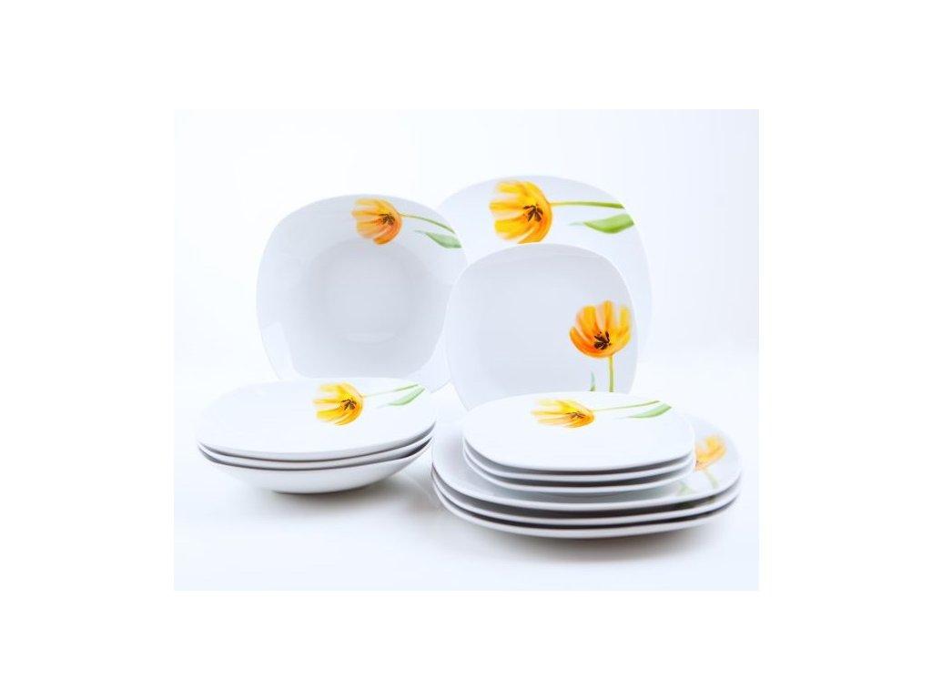 Tulip jídelní souprava talířů 12 d