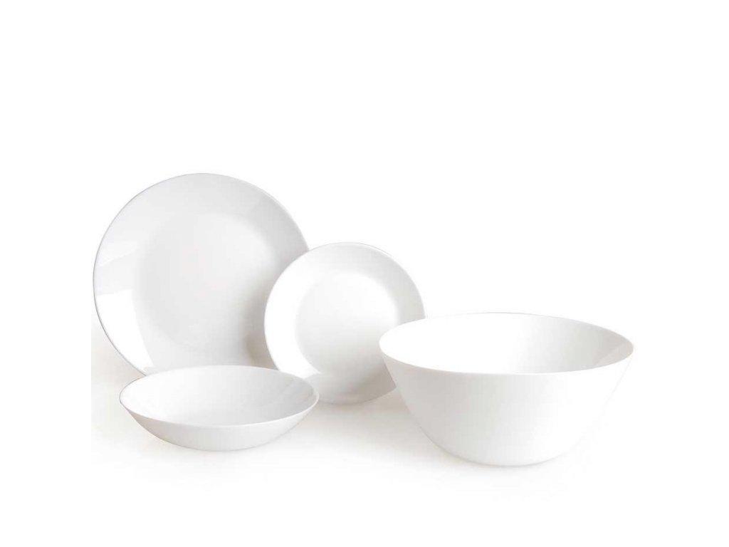 Luminarc Jídelní souprava talířů Zélie 19 ks