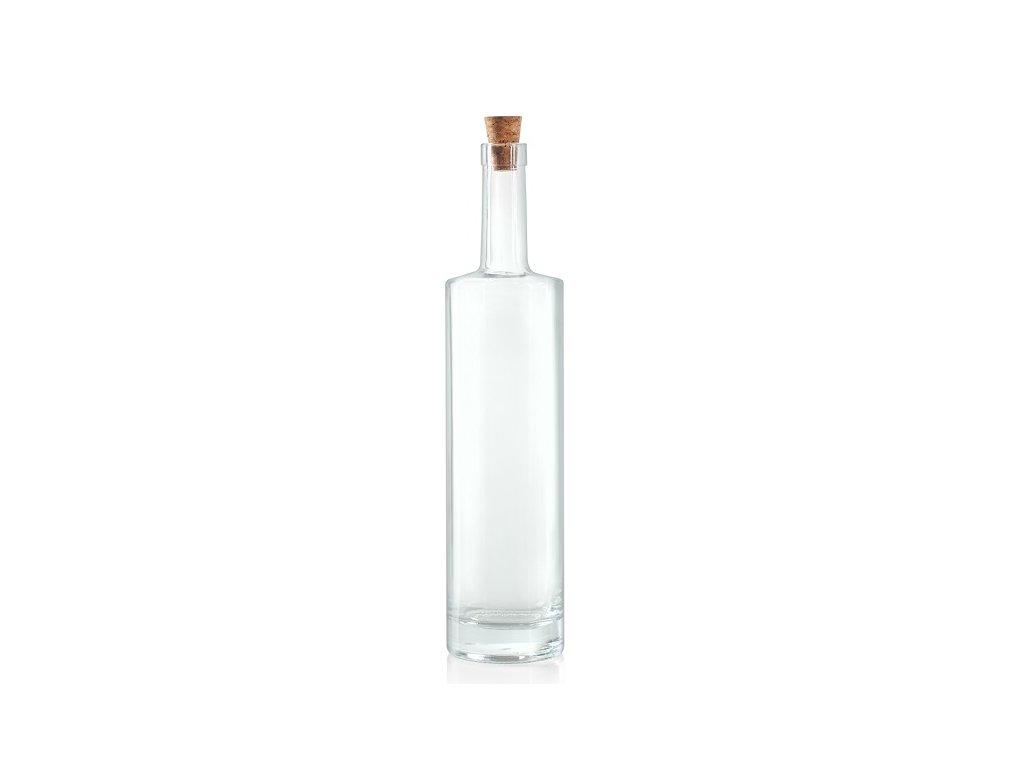 Skleněná láhev na alkohol Raffaelo 0,7 l