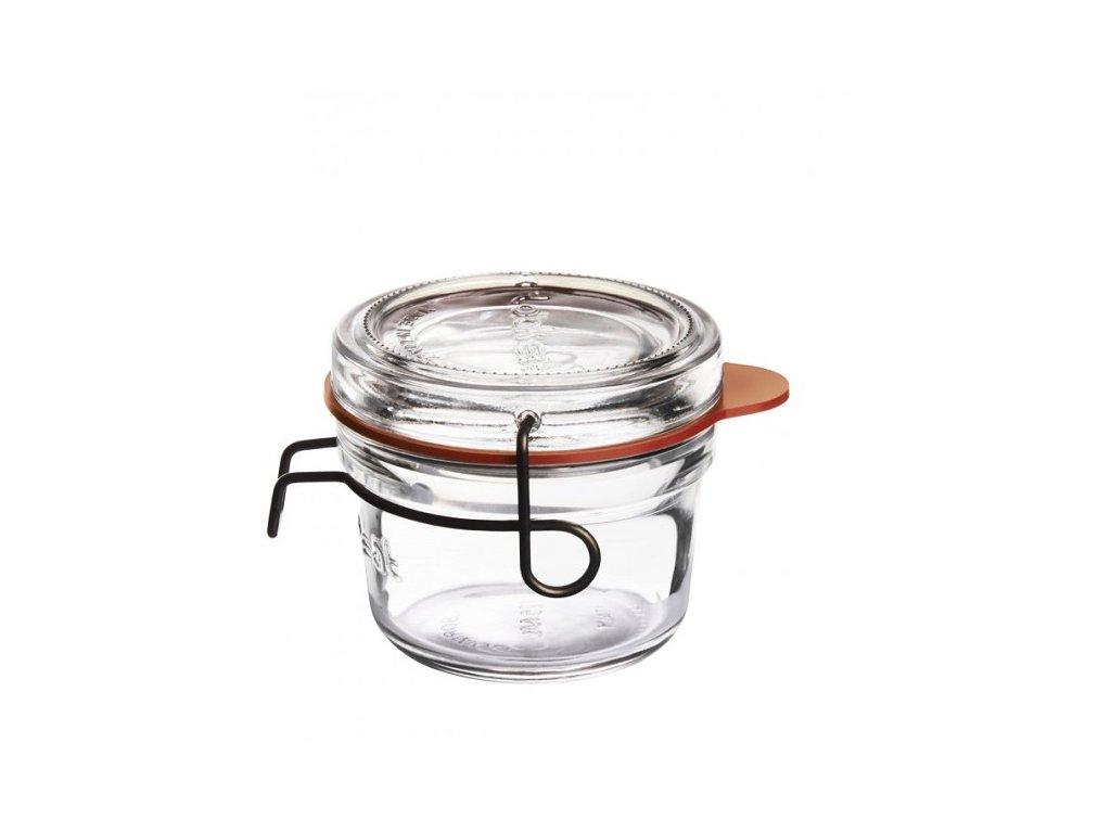 Luigi Bormioli zavařovací sklenice Lock - Eat 125 ml