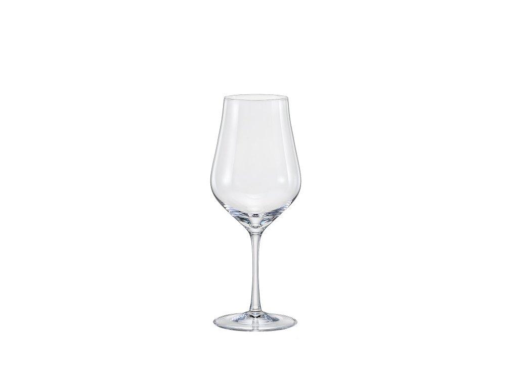 Crystal Bohemia Sklenice na vín Tulipa 350 ml Crystalex