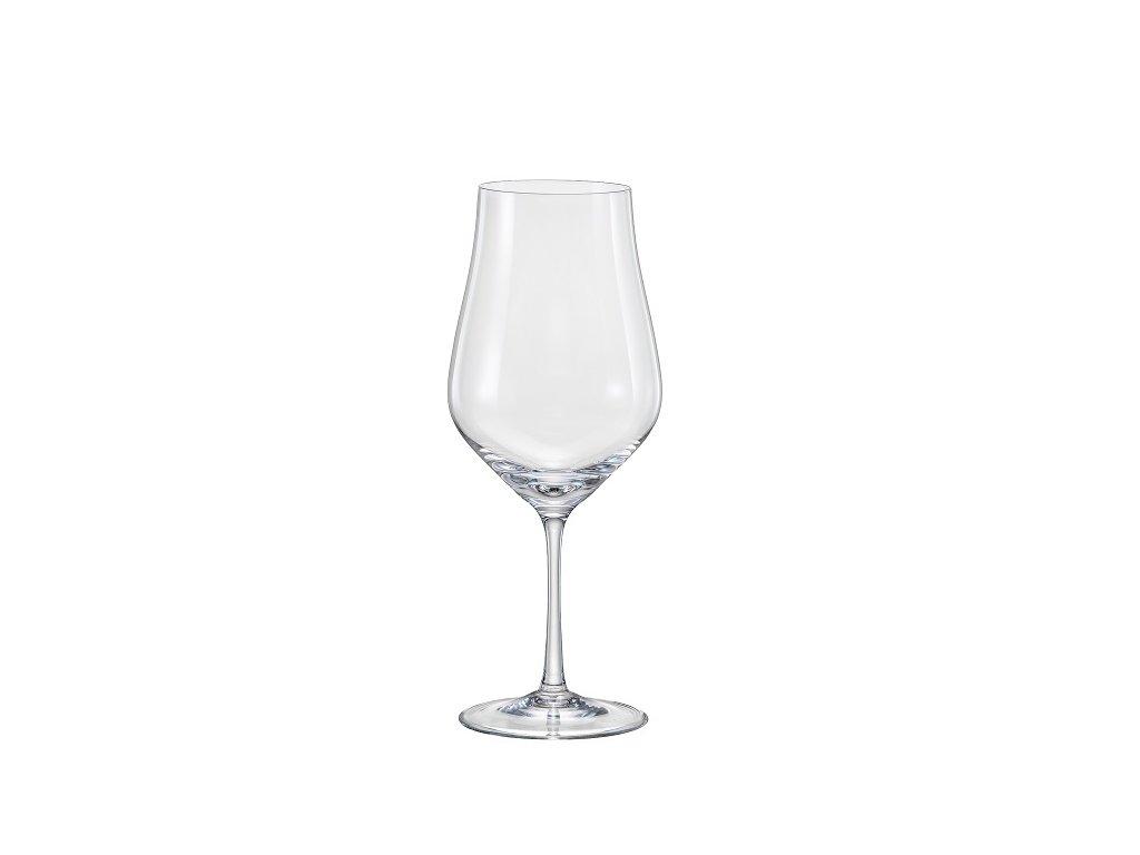 Crystal Bohemia Sklenice na víno Tulipa 450 ml Crystalex