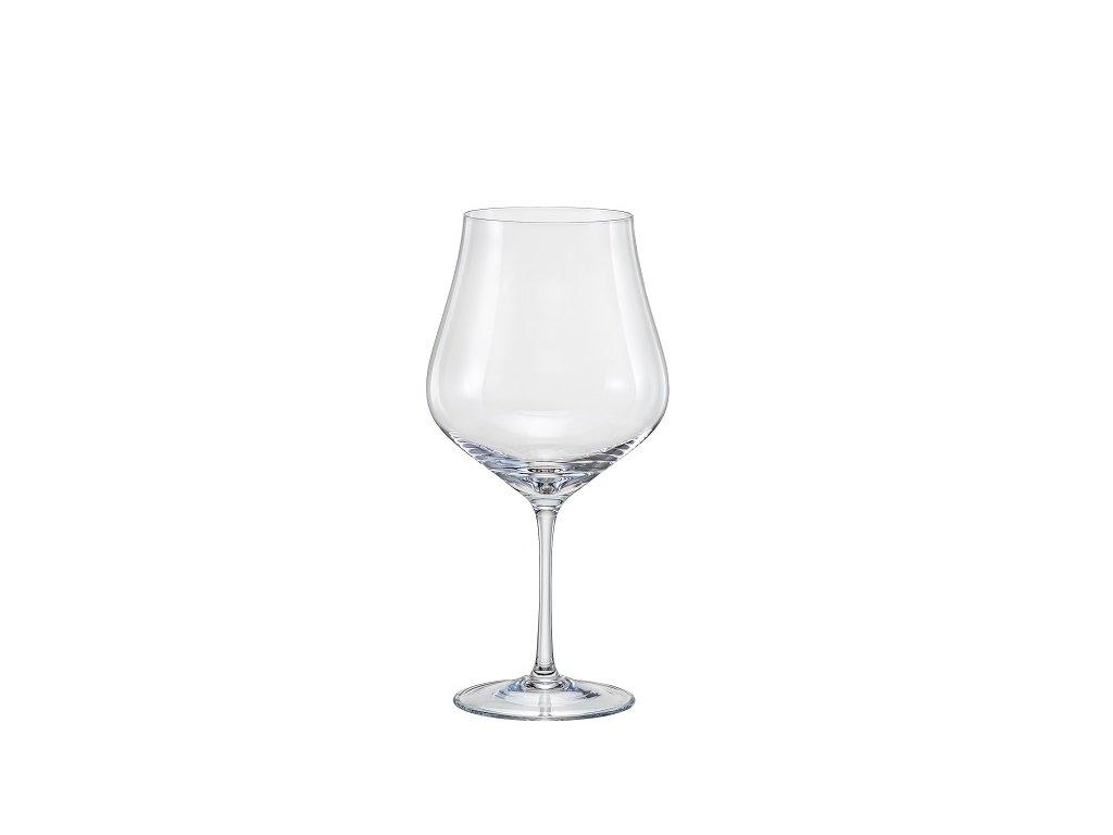 Crystal Bohemia Sklenice na víno Tulipa 600 ml Crystalex