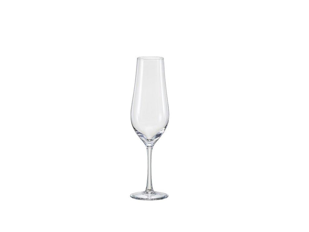 Crystal Bohemia Sklenice na víno Tulipa 170 ml Crystalex