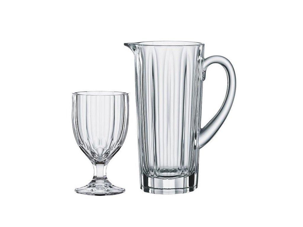 Aspen summerdrinks set 5 ks džbán a sklenice