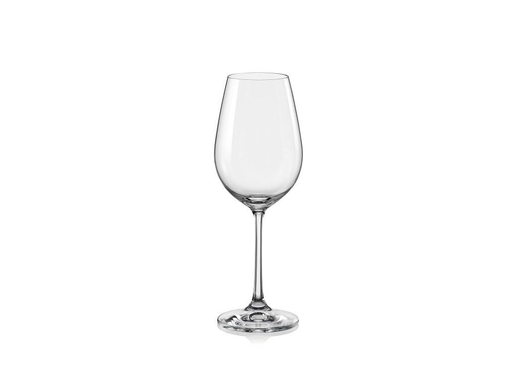 crystalex sklenice na víno viola 250 ml