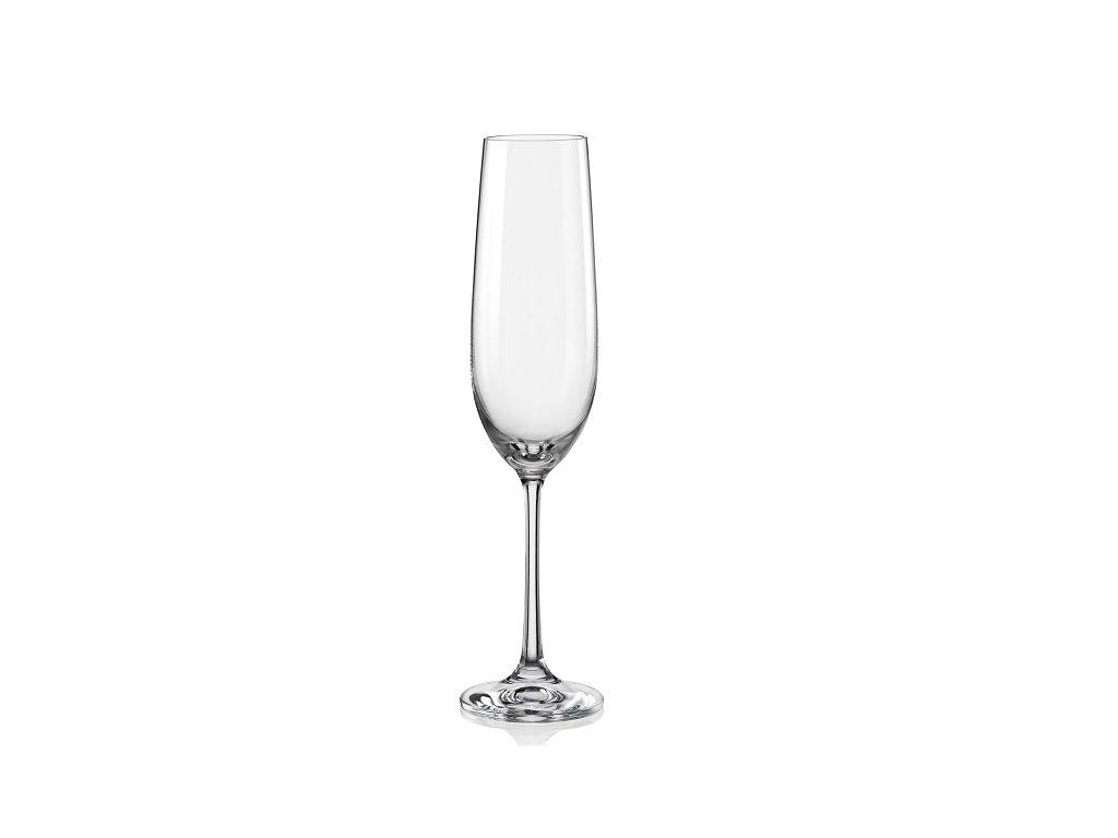 crystalex viola sekt 190 ml