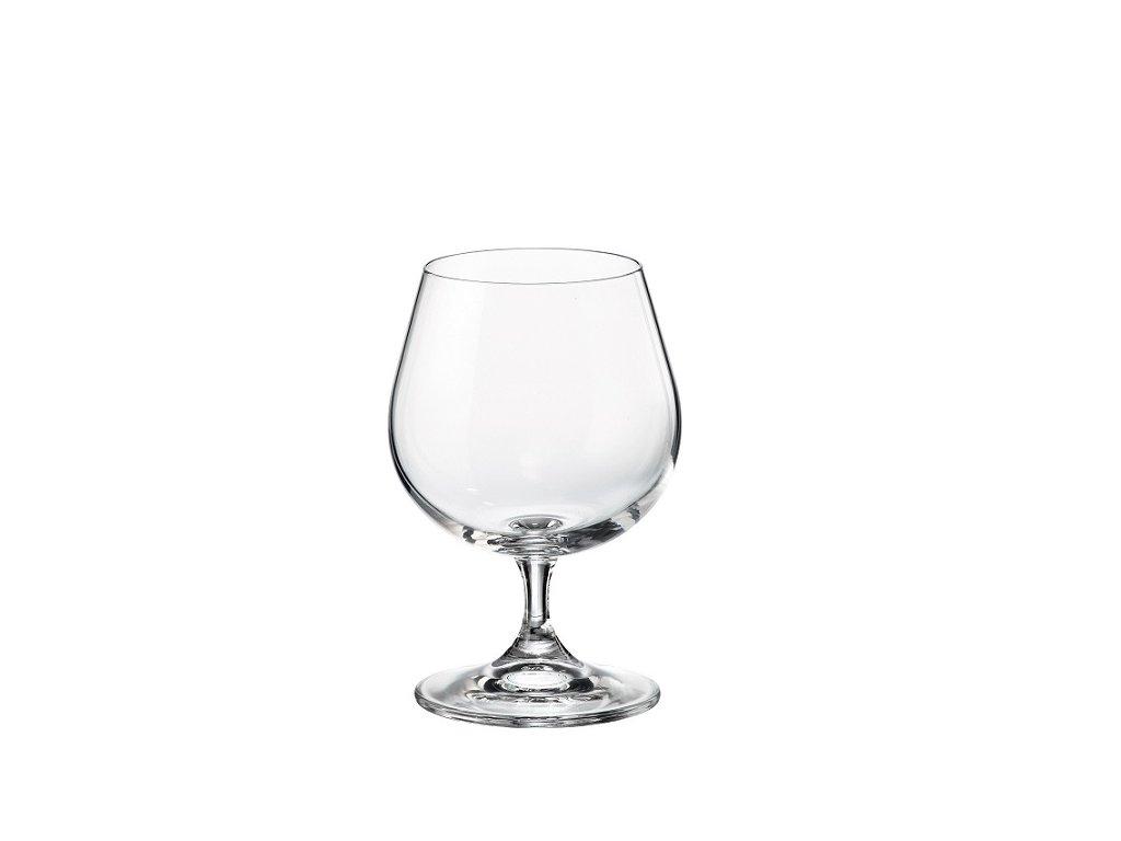 crystalite bohemia sklenice na brandy sylvia 400 ml