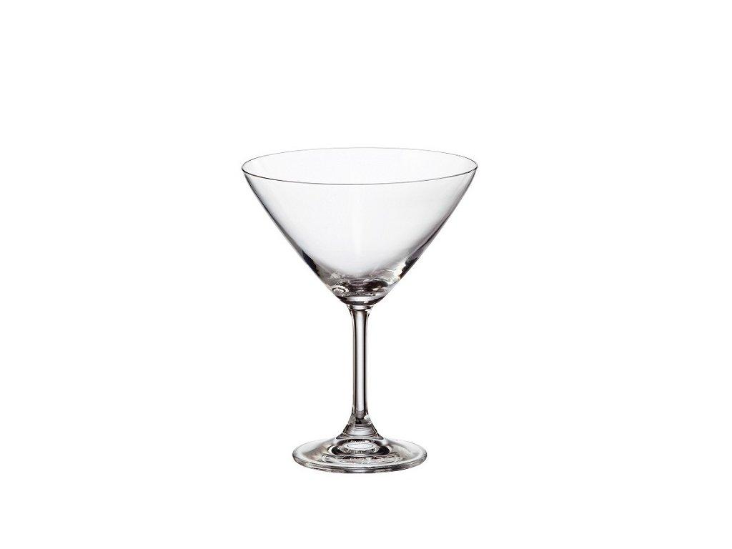 crystalite bohemia sklenice na martini sylvia 280 ml