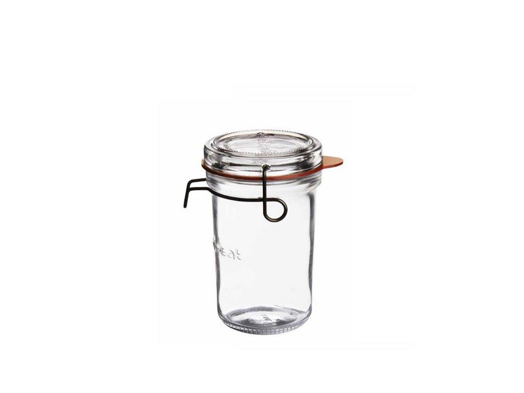 Luigi Bormioli zavařovací sklenice Lock - Eat 350 ml