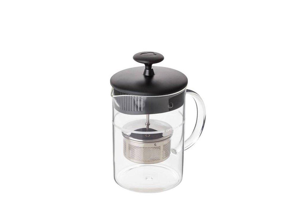 Konvice na čaj skleněná ČAJOVAR 0,5 L