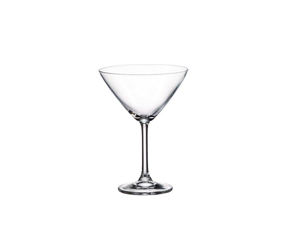 crystalite bohemia sklenice na martini colibri 280 ml