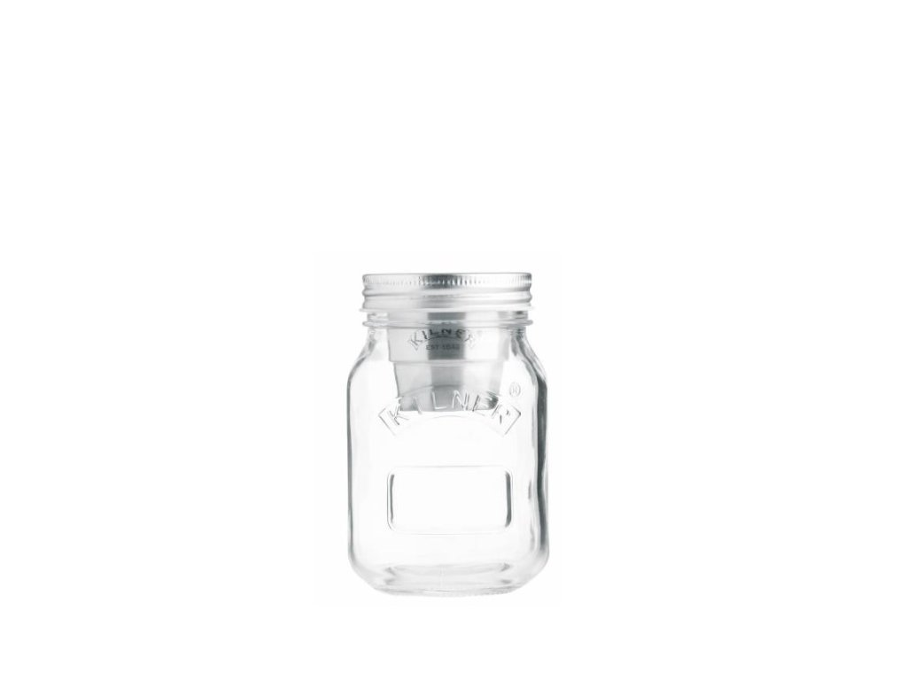 kilner snack on the go jar sklenice s miskou na dresink musli jogurt