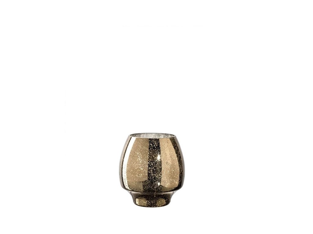 leonardo svicinek svicen skleneny zlaty gold speckle