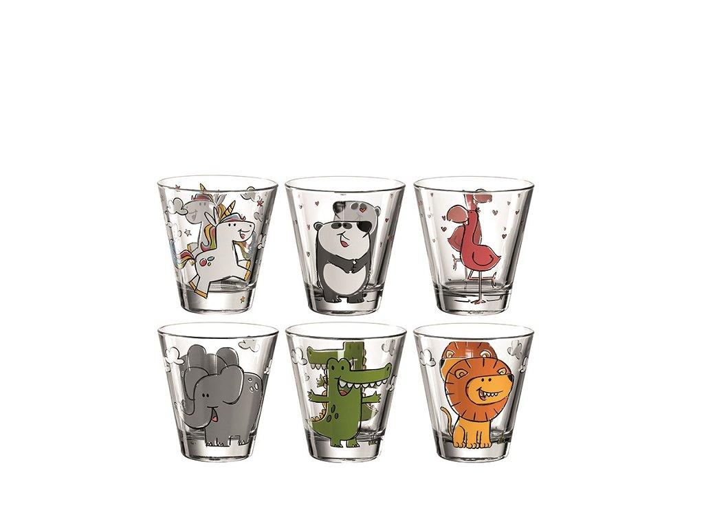 Leonardo Dětské skleničky Bambini 6 ks