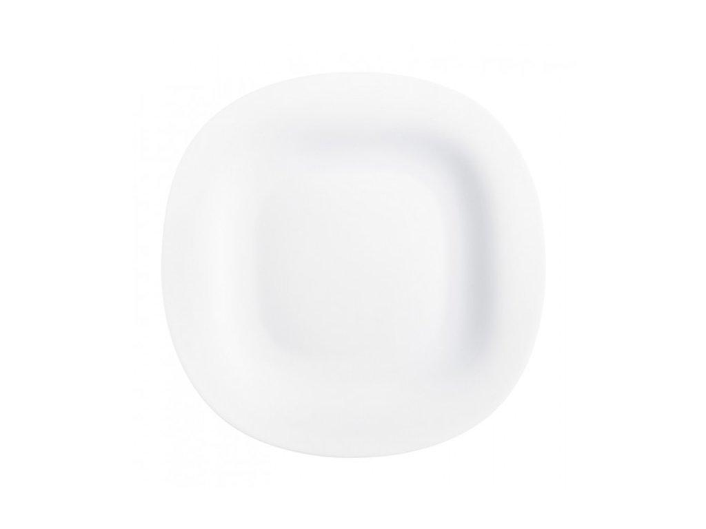 Luminarc Plytký talíř Carine bílý 26 cm