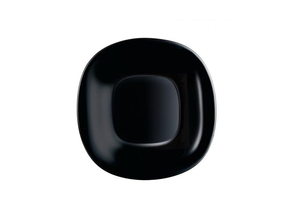 Luminarc Dezertní talíř Carine černý 19 cm
