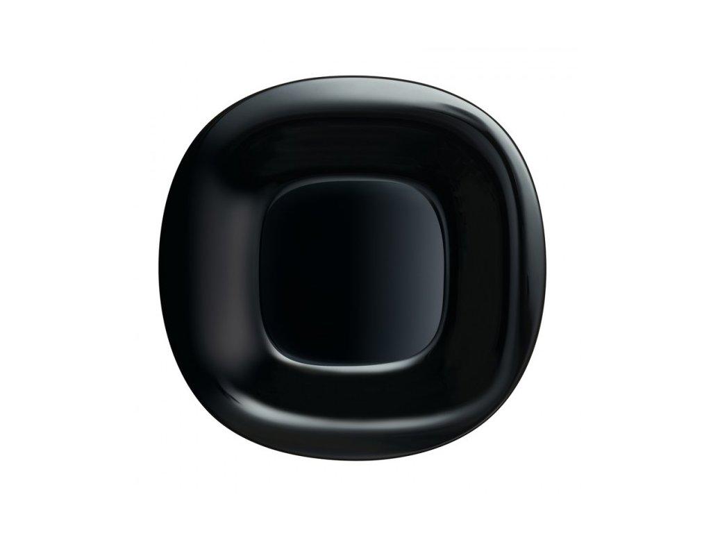 Luminarc Plytký talíř Carine černý 26 cm