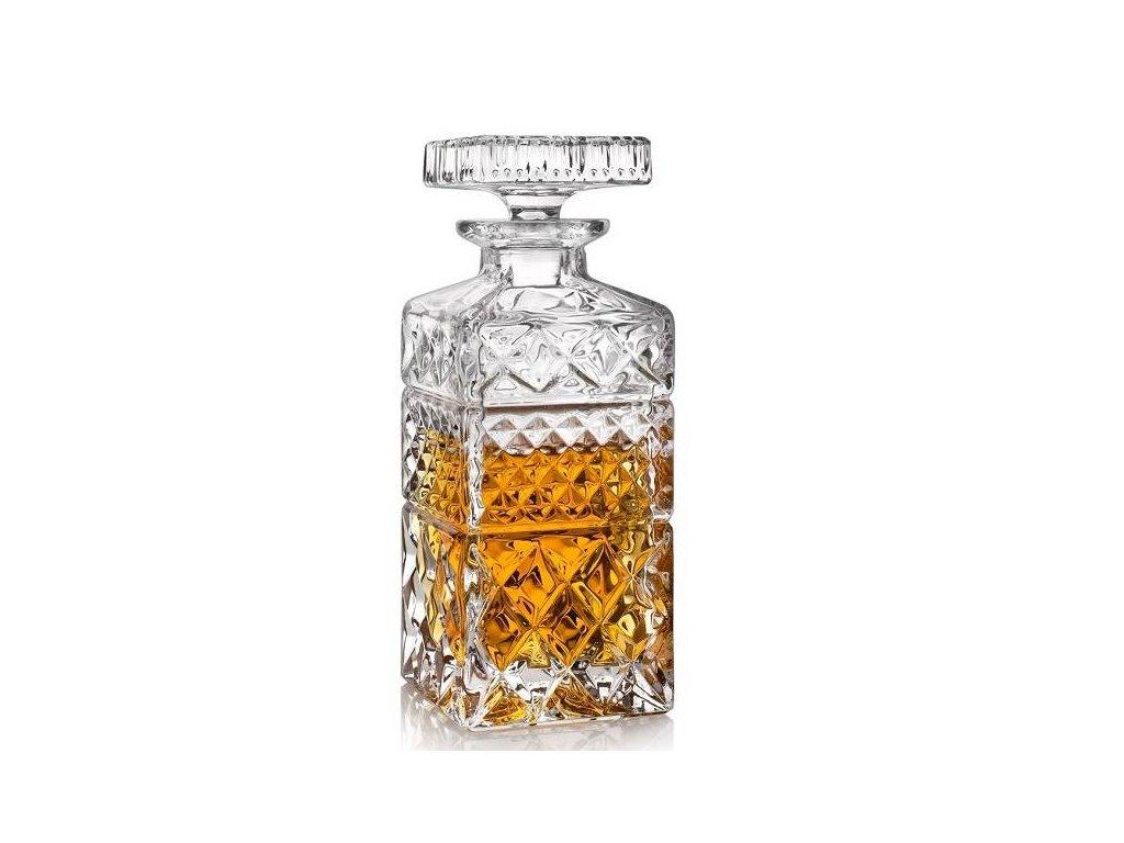 Crystal Bohemia karafa na whisky Madison