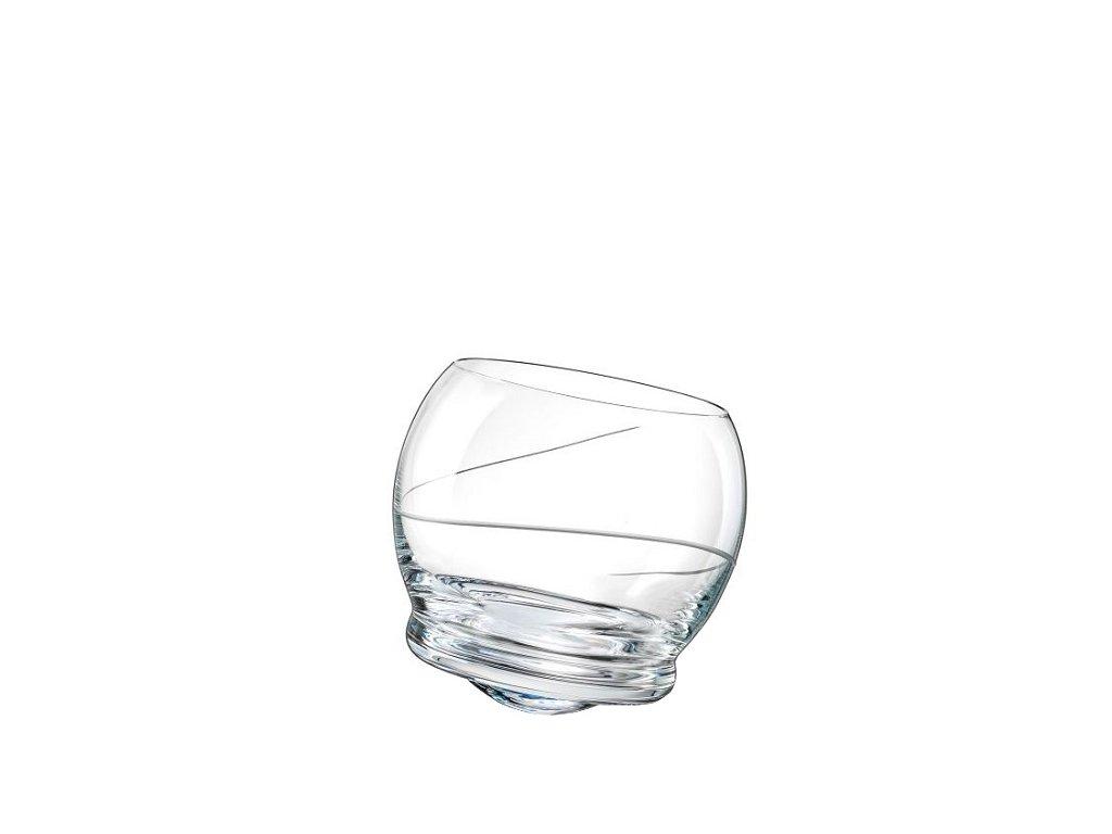 Crystalex tančící sklenic Crazy 390 ml