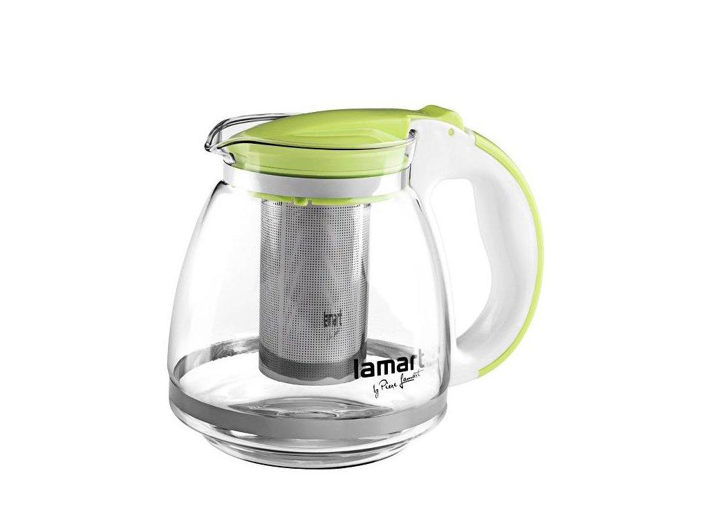 Lamart skleněná konvice na čaj Verre 1,5 l