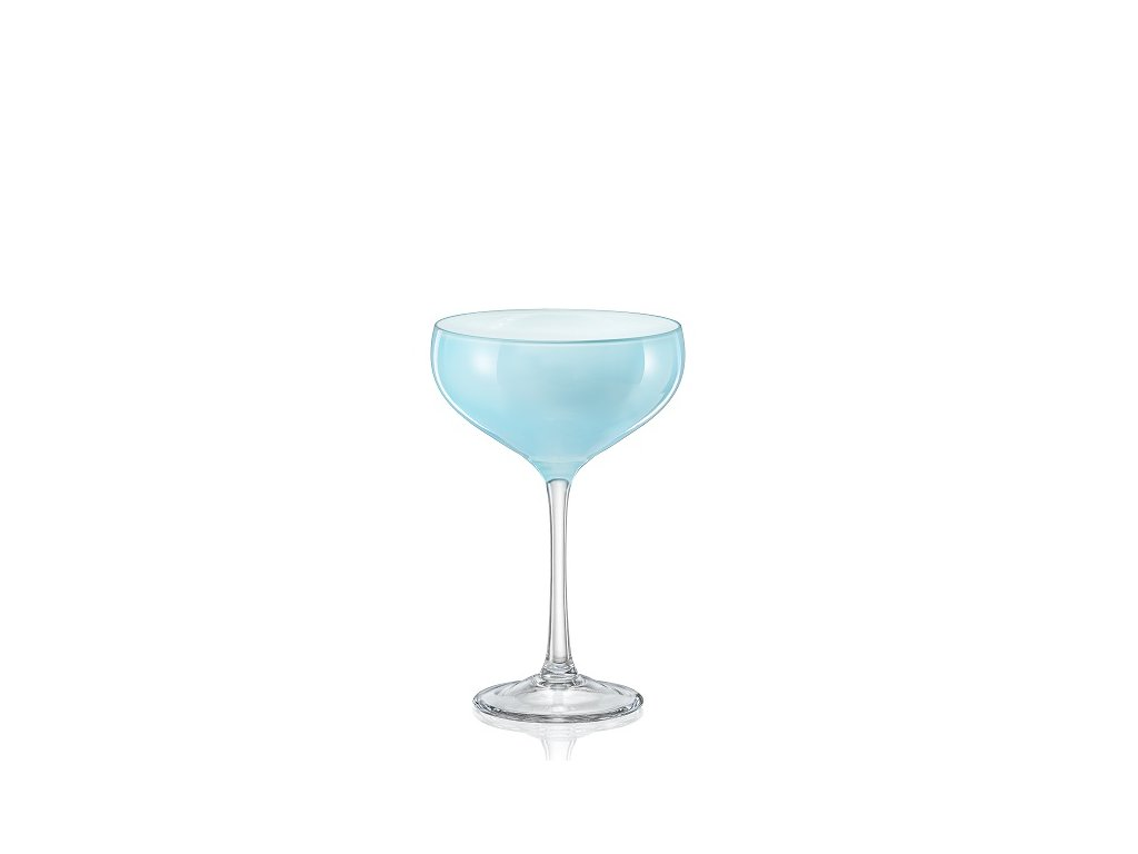 Sklenice na koktejly Pralines 180 ml modrá D5255 40919 180