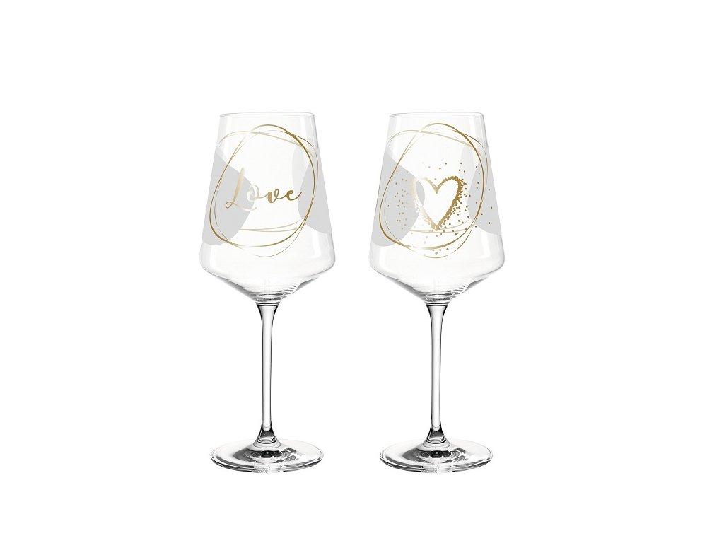 Leonardo Presente Sklenice na víno 029177