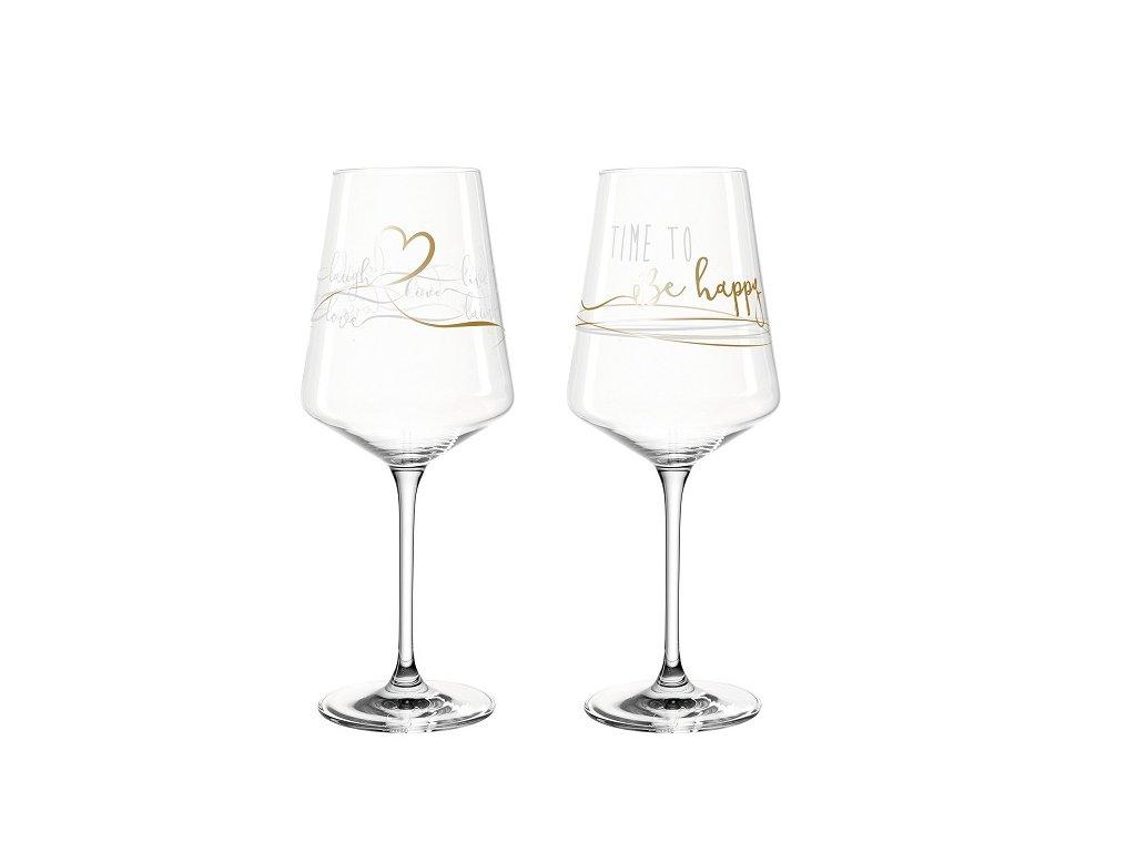 Leonardo Presente Sklenice na víno 029176