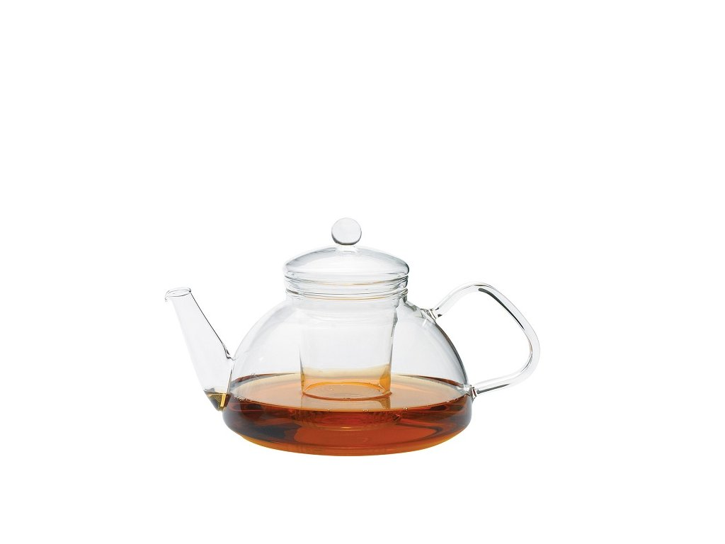 Trendglas Jena konvice na čaj Theo se skleněným filtrem
